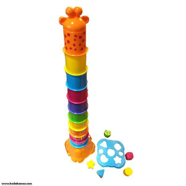 بازی برج زرافه