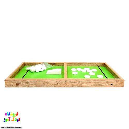 بازی فکری بولینگ و شوتبال چوبی