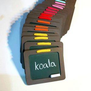 تخته سیاه سایز ۱۰*۱۳ koala accessories