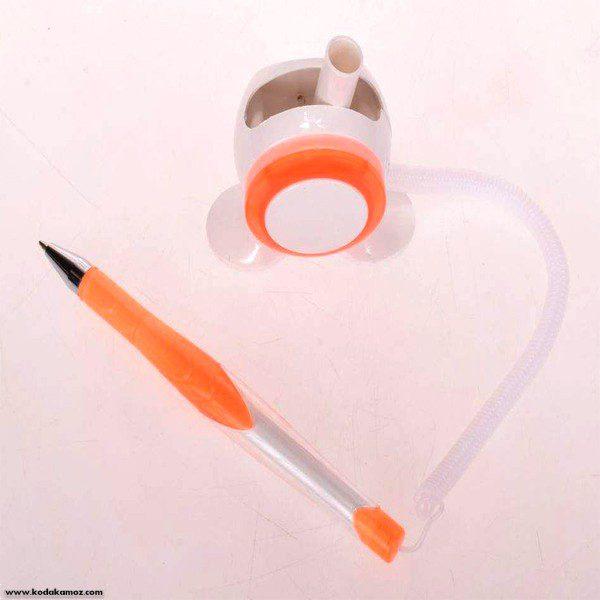 خودکار رو میزی چسبدار دو پایه