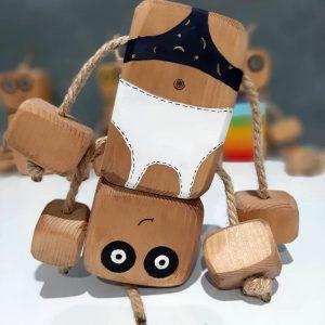 عروسک روودی با لباس راحتی