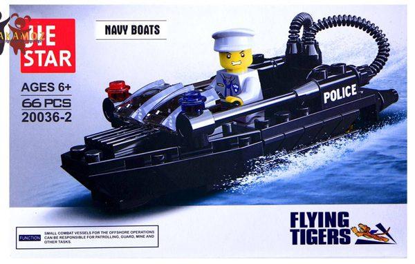 ساختنی ژی استار مدل قایق نیروی دریایی Navt Boat 20036-2