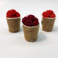 هدیه ولنتاین سبد گل عاشقانه