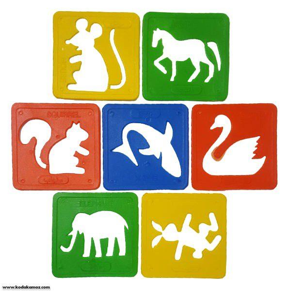 شابلون حیوانات