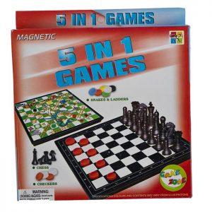 شطرنج ۵ بازی