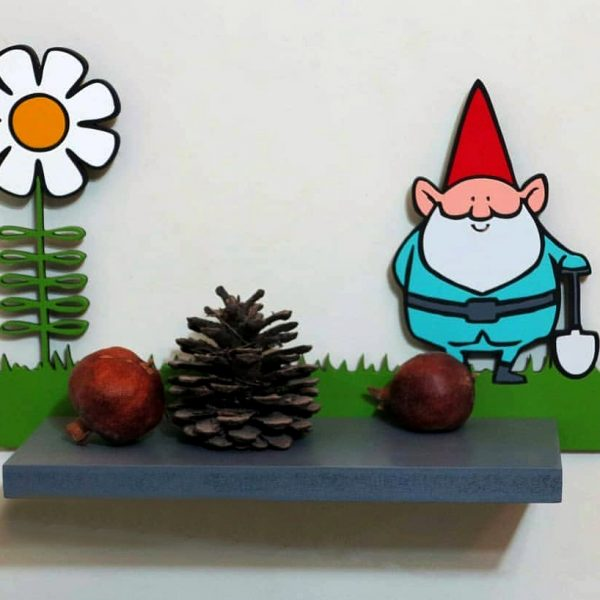 شلف چوبی دیواری کودکانه طرح بابانوئل koala accessories
