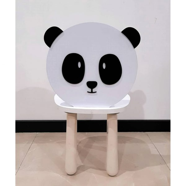 صندلی چوبی کودکانه طرح پاندا koala accessories