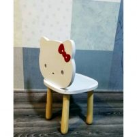 صندلی چوبی کودکانه طرح کیتی