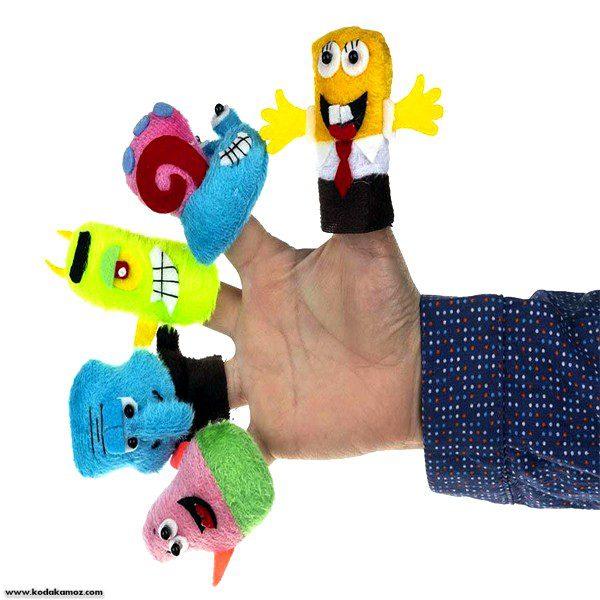 عروسک انگشتی باب اسفنجی پرشین