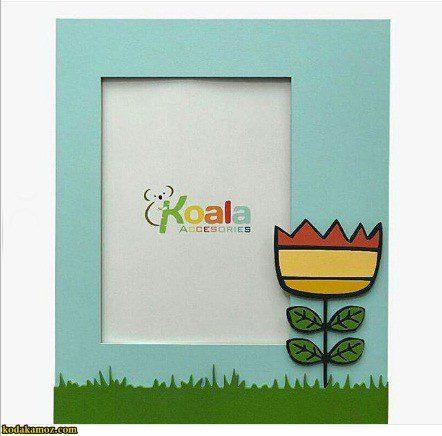 قاب عکس چوبی کودکانه طرح گل koala accessories