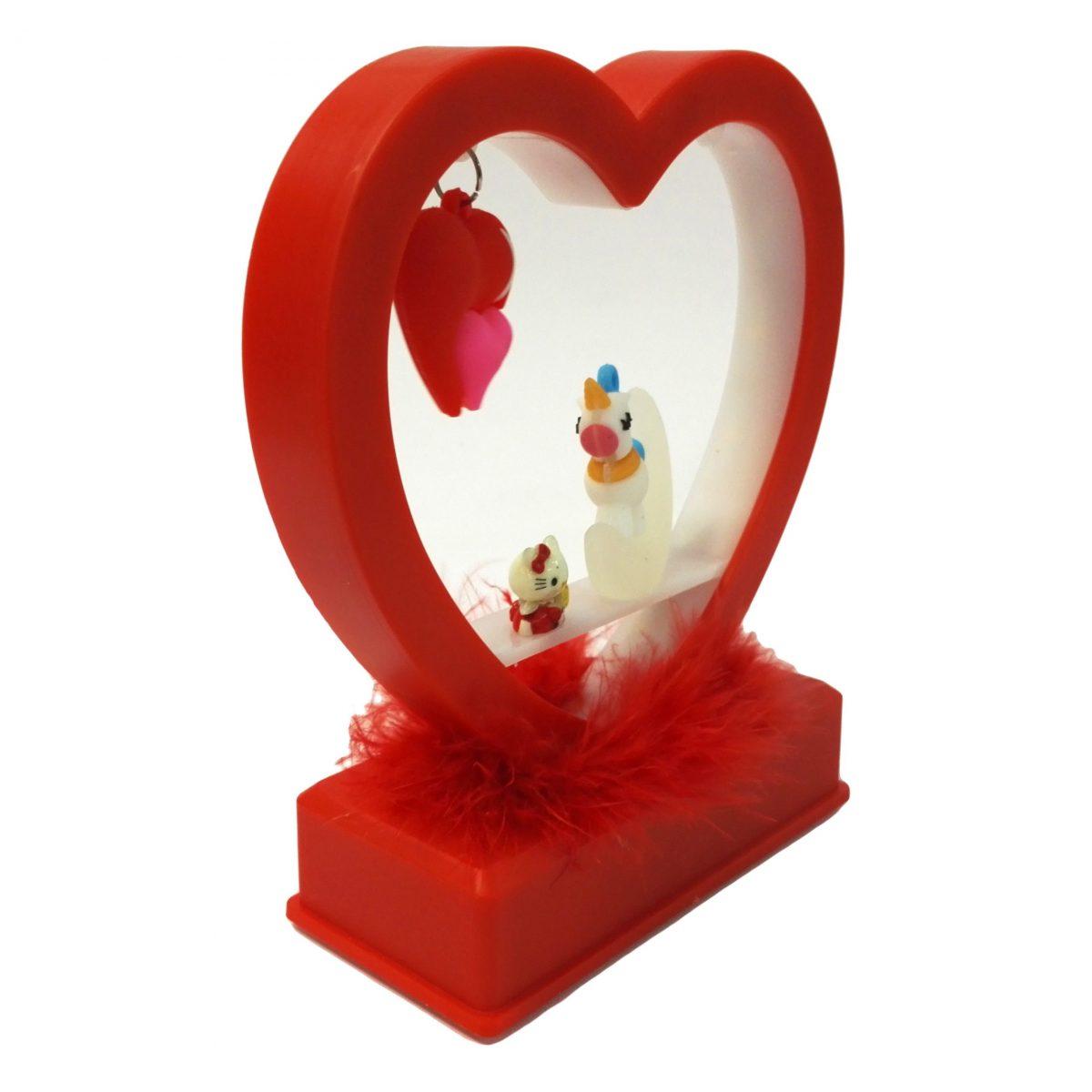 هدیه ولنتاین جعبه طرح قلب موزیکال (قلب موزیکال ولنتاین)