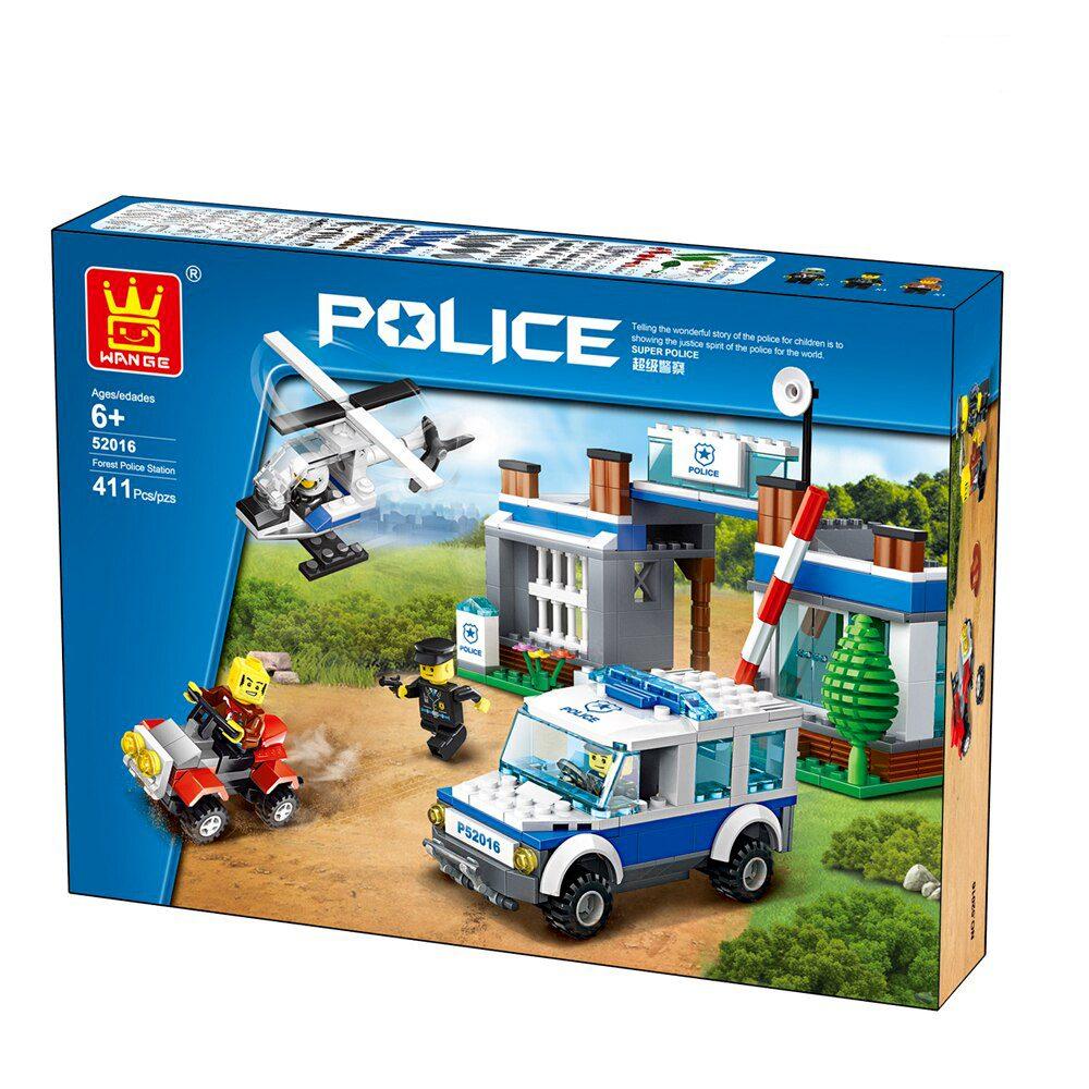 لگو شهر پلیس POLICE 52016