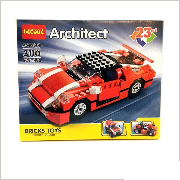 لگو ماشین آرشیتکت 23 مدل (شرکت دکول)