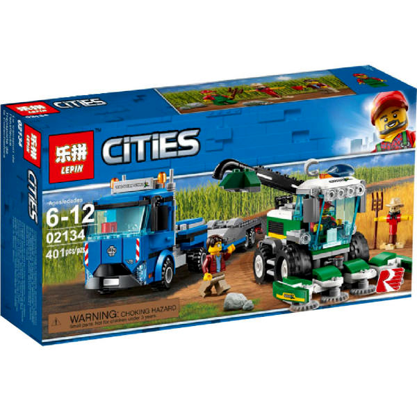 لگو ماشین آلات کشاورزی 02134 city