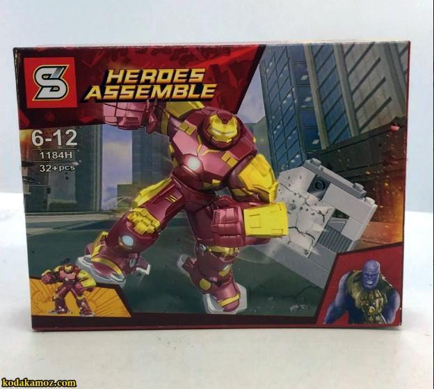 لگو Heroes Assemble 1184