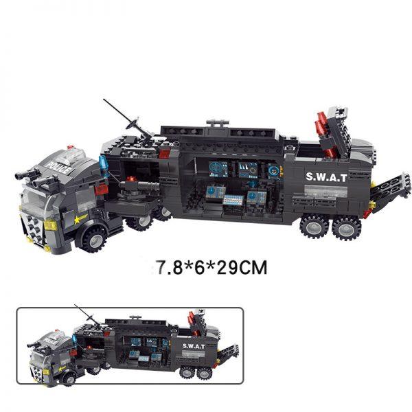 لگو پلیس swat 8522 سری مجموعه