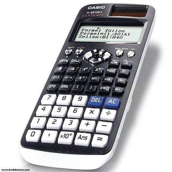 ماشین حساب کاسیو991 ای ایکس