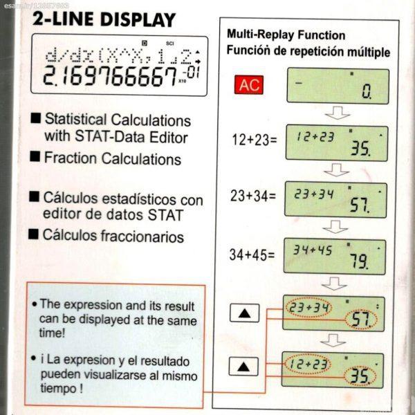 ماشین حساب مهندسی OS-570ES