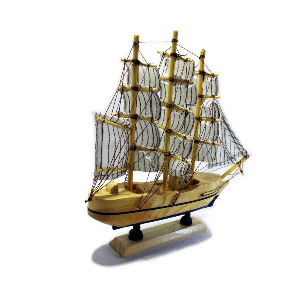 ماکت کشتی بادبانی چوبی (هدیه ولنتاین ماکت کشتی)