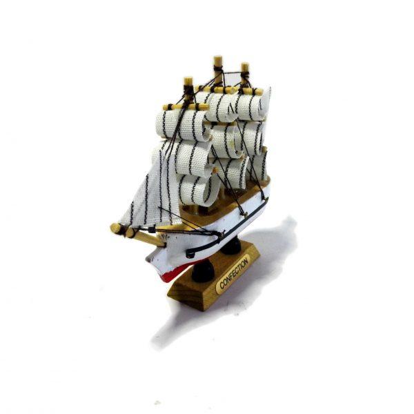 ماکت کشتی بادبانی چوبی کوچک(هدیه ولنتاین ماکت کشتی)