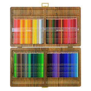 مداد رنگی ویکتوریا جعبه ۱۰۰ رنگ