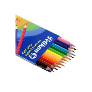 مداد رنگی ۱۲ مقوایی پلیکان