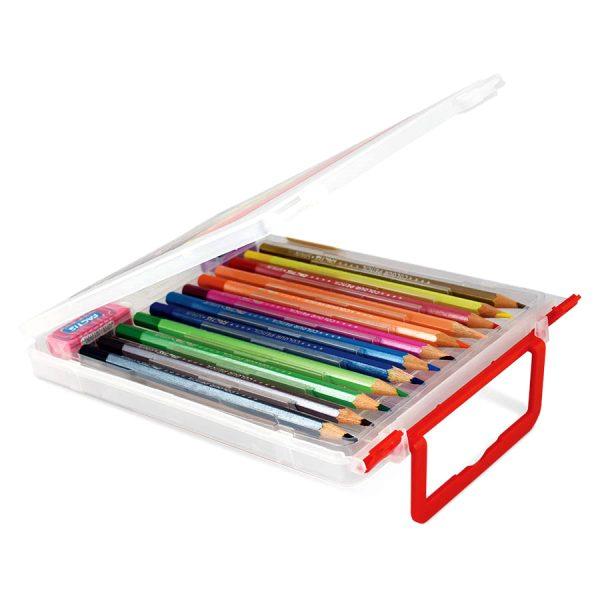 مداد رنگی 12 جعبه دار فکتیس