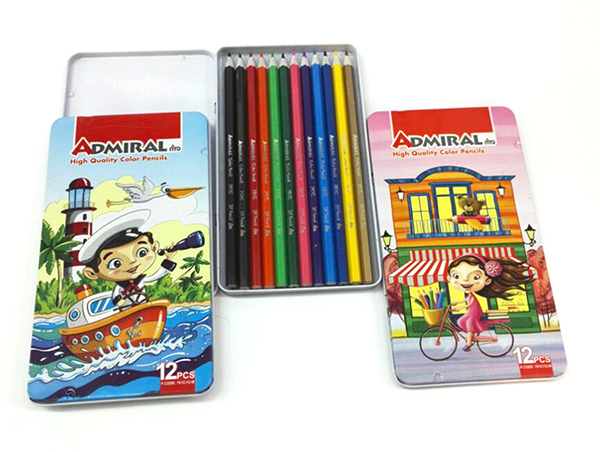 مداد رنگی 12 فلزی شکرستان