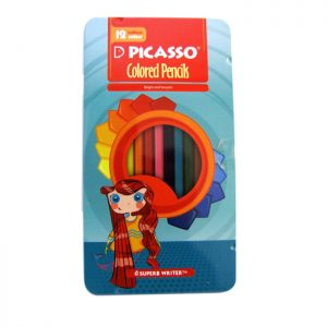 مداد رنگی ۱۲ فلزی پیکاسو