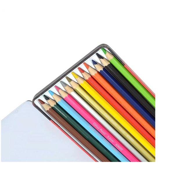مداد رنگی 12 فلزی کویلو
