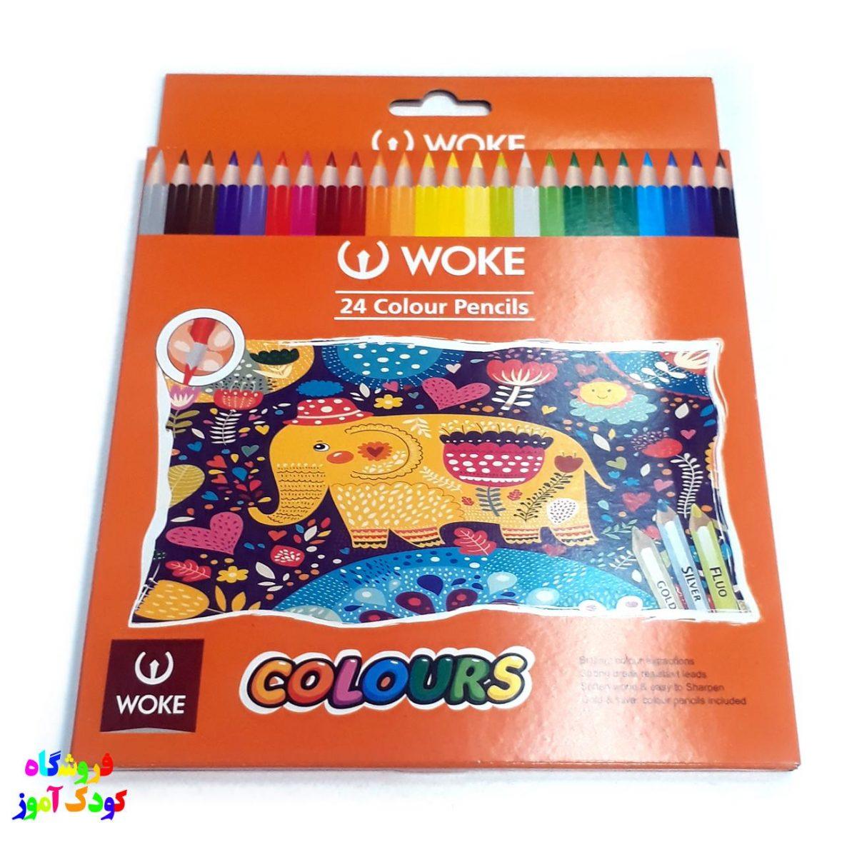 مداد رنگی 24 ووک