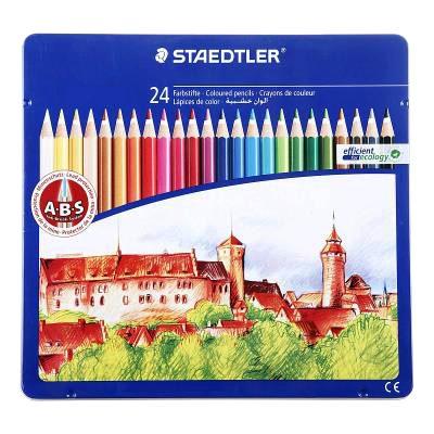 مداد رنگی 24 فلزی استدلر