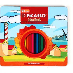 مداد رنگی ۲۴ فلزی پیکاسو