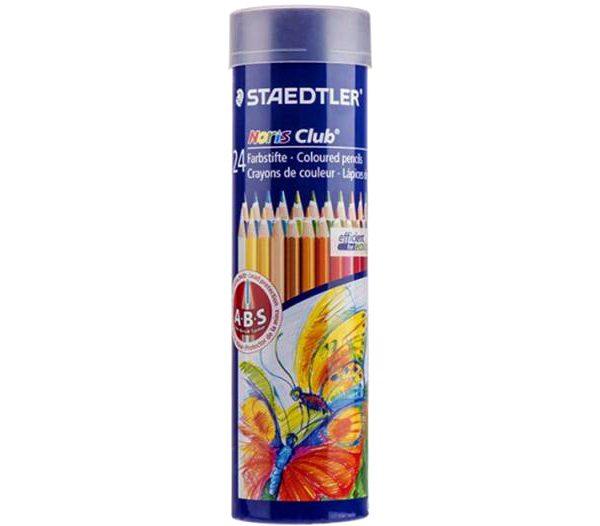 مداد رنگی 24 رنگ لوله ای استدلر
