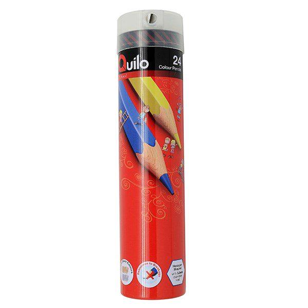 مداد رنگی 24 لوله ای کویلو