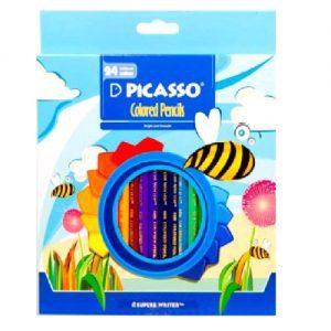 مداد رنگی ۲۴ رنگ برند پیکاسو
