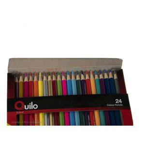 مداد رنگی ۲۴ مقوایی کویلو