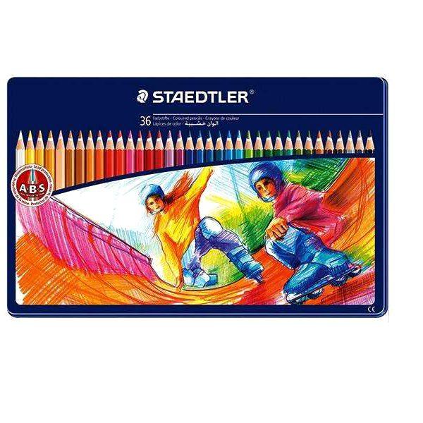 مداد رنگی 36 فلزی استدلر