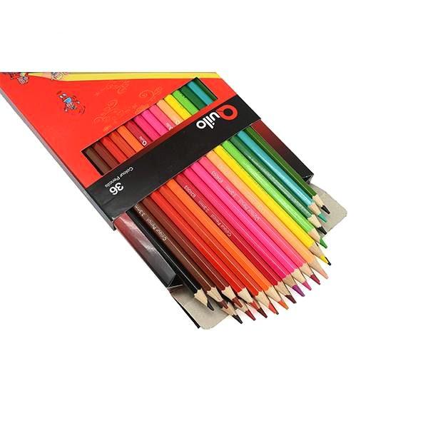 مداد رنگی 36 مقوایی کویلو