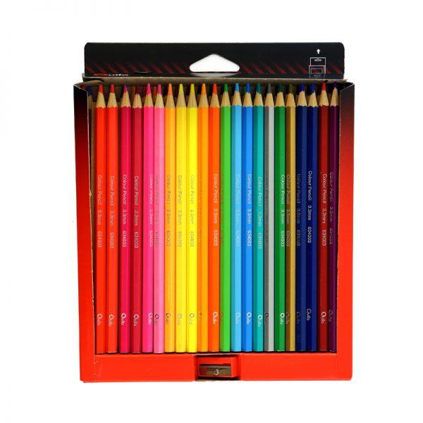 مداد رنگی 48 مقوایی کویلو