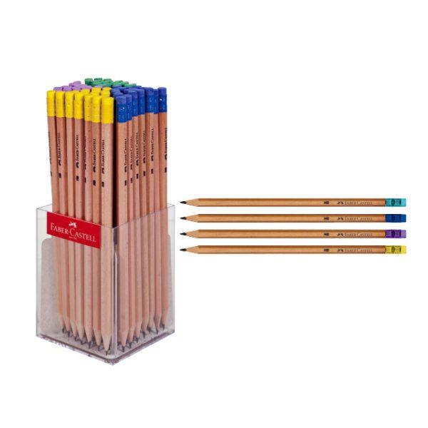 مداد مشکی چوبی فابر