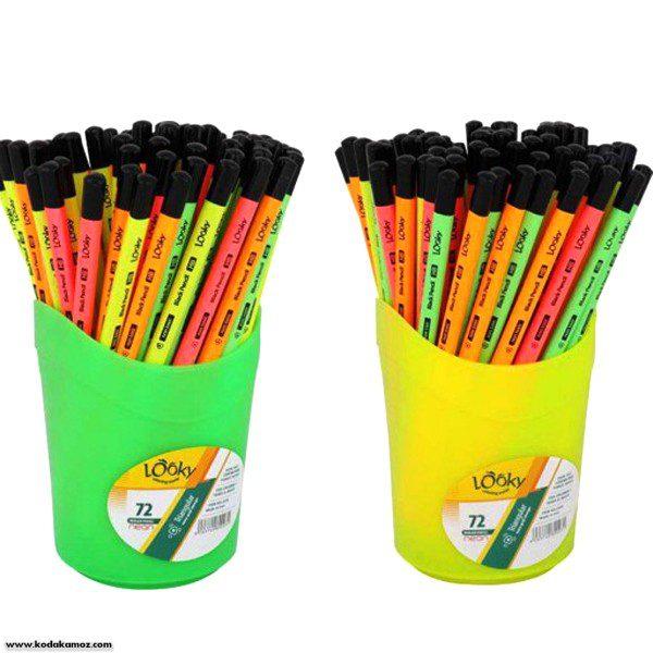 مداد مشکی 3گوش لوکی