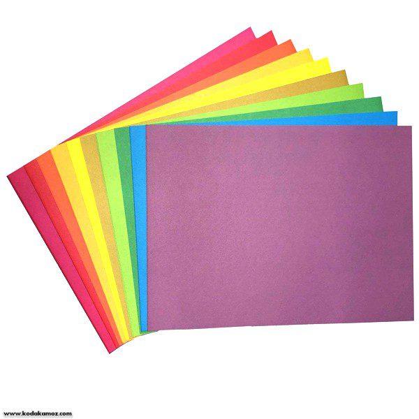 مقوا رنگی بسته 10عددی