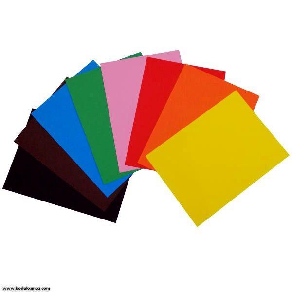 مقوا رنگی معمولی سایزA4