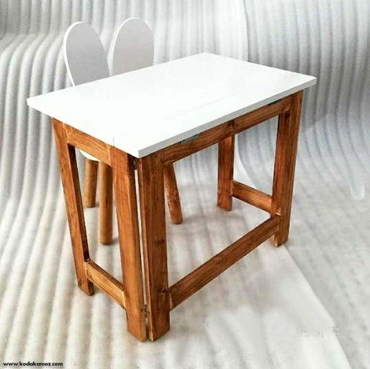 میز تاشو چوبی کوالا