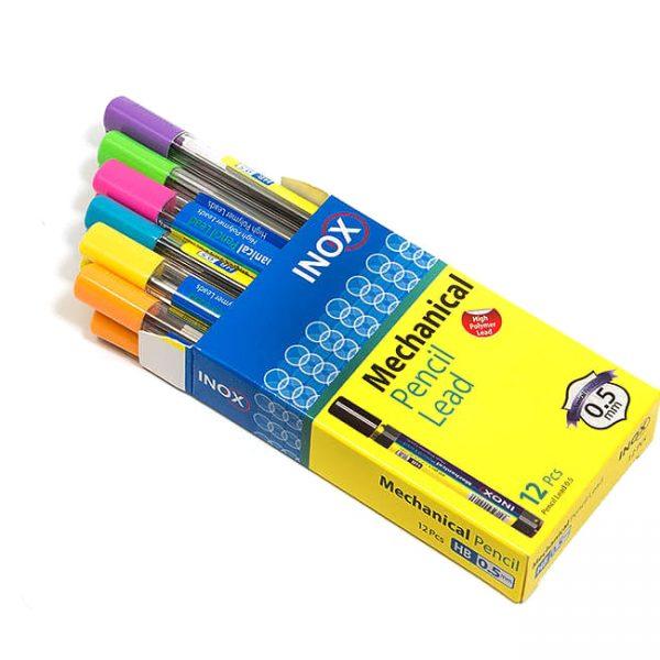 مداد رنگی 24 فلزی اینوکس