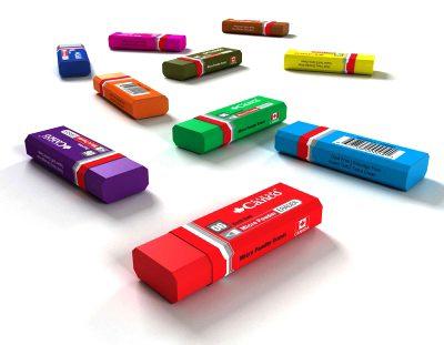پاک کن میکروپودر 20 رنگی کنکو