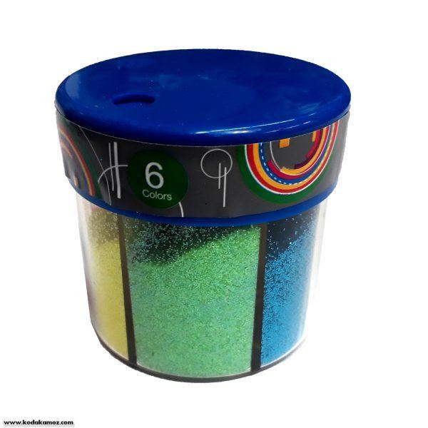 اکلیل 6 رنگ نمک پاش