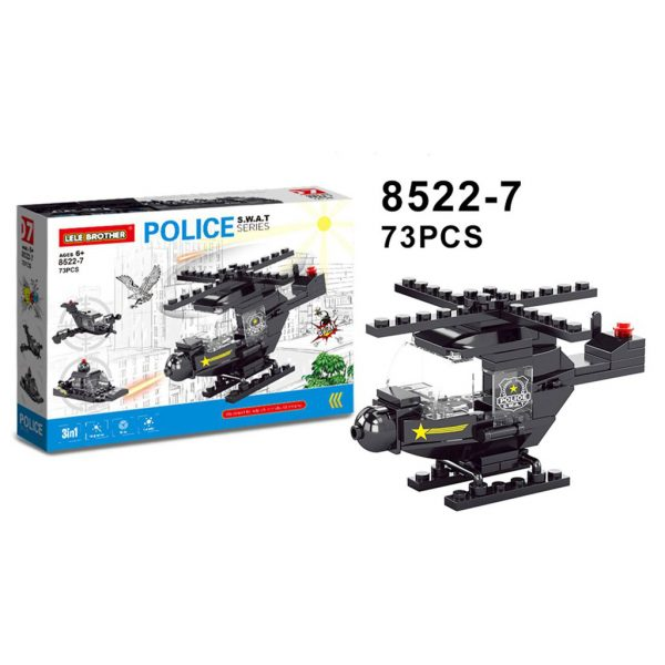 لگو پلیس swat 8522 سری D6