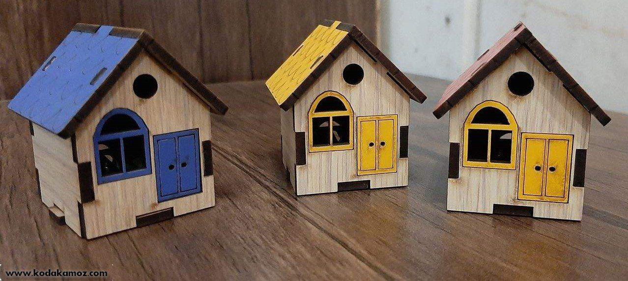 تراش کلبه چوبی